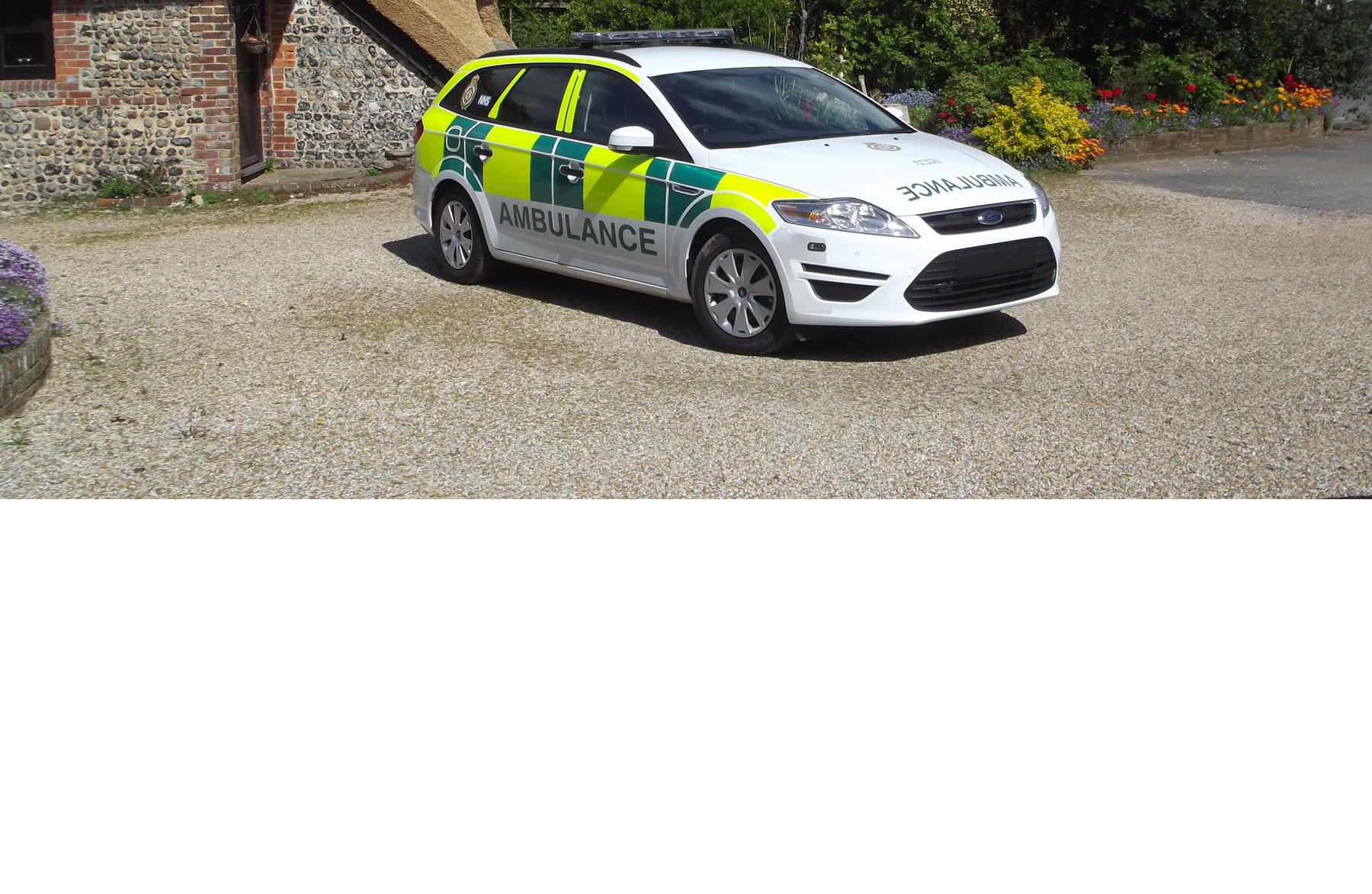 Ambulance Background Image