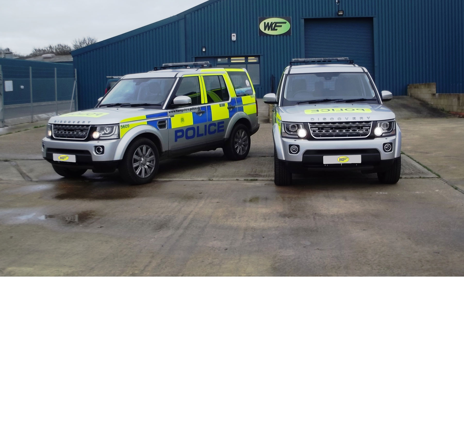 Police Vehicles Banner 2